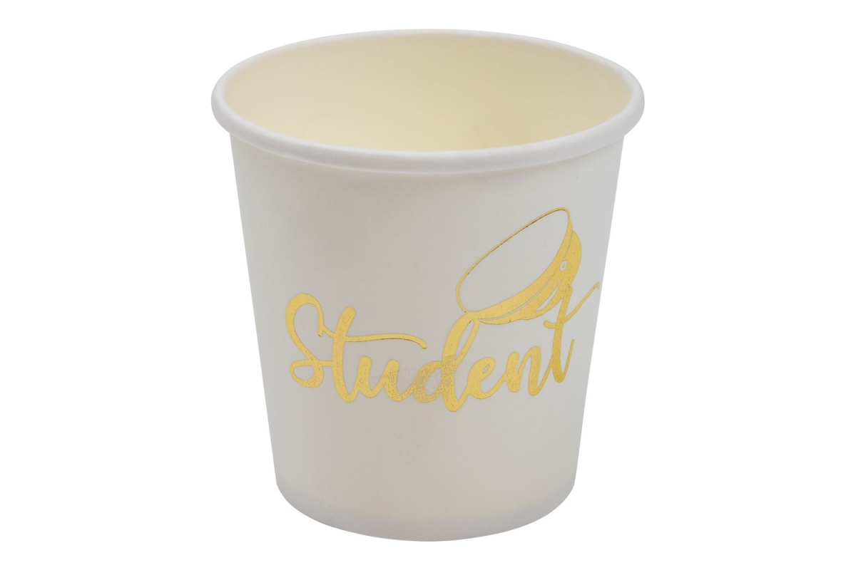 Pappersmugg Student 8-P