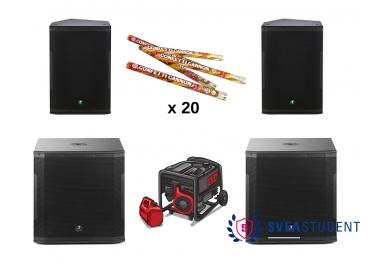 Stora ljudpaketet - Inkl. allt! Ca. 7000 watt - Inkl. Utkörning