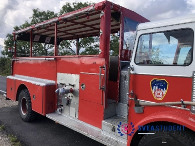 USA Brandbussen (Avgång innan 12:00)